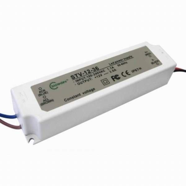 Bioledex Trafo für LED Leuchtmittel - 12V 36W DC