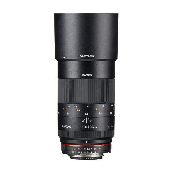 Samyang MF 100mm F2,8 Makro DSLR Nikon F AE
