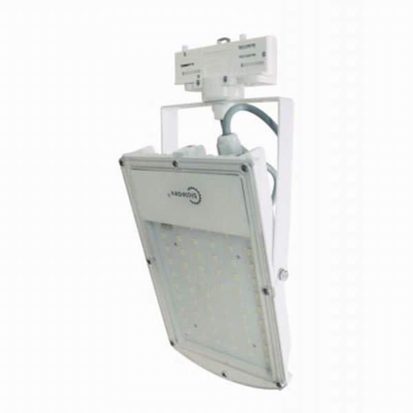 Bioledex 3-Phasen LED Strahler ASTIR 30W 2700Lm 120° 5200K Weiss