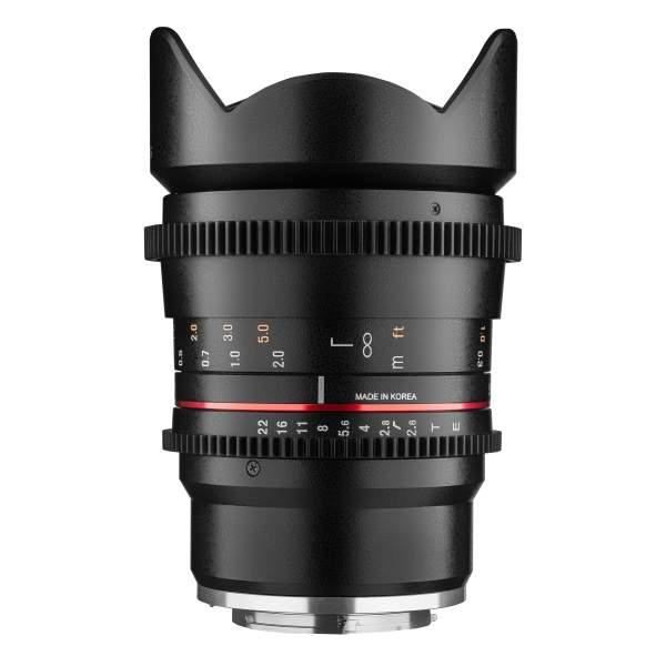 Samyang MF 16mm T2,6 Video DSLR MFT