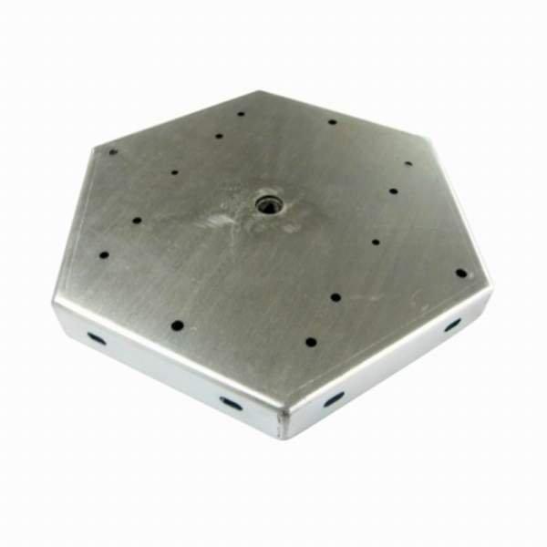 Montageplatte für max. 6 Bioledex ASTIR LED Fluter