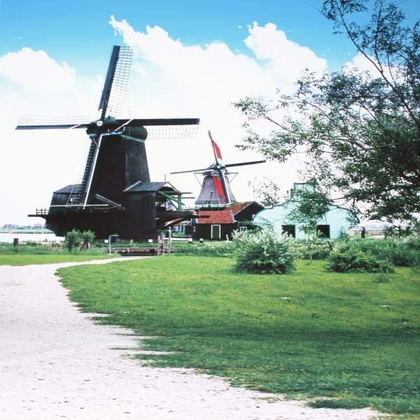 Fotomotiv-Hintergrund 'Amsterdam', 3x6m