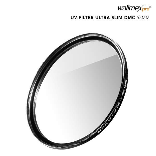 Walimex pro UV-Filter Slim Super DMC 55mm
