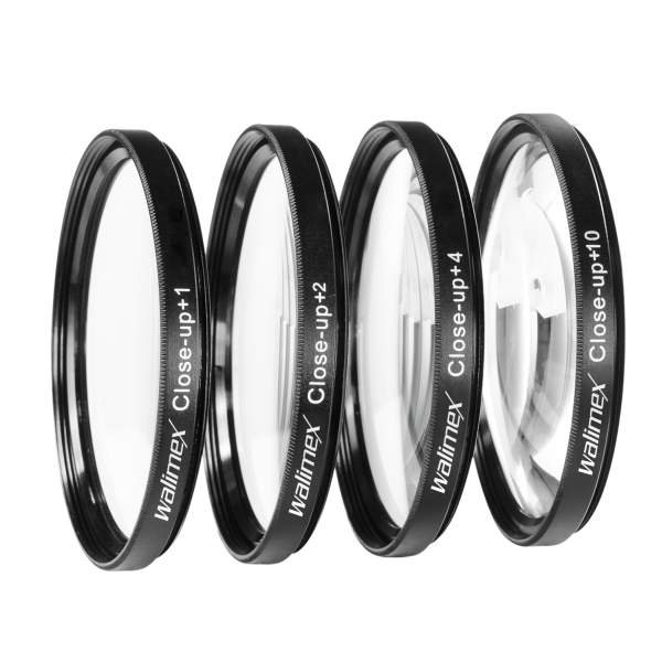 Walimex Close up Makrolinsen-Set 67 mm