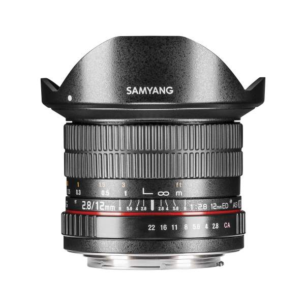 Samyang MF 12mm F2,8 Fisheye DSLR Canon M