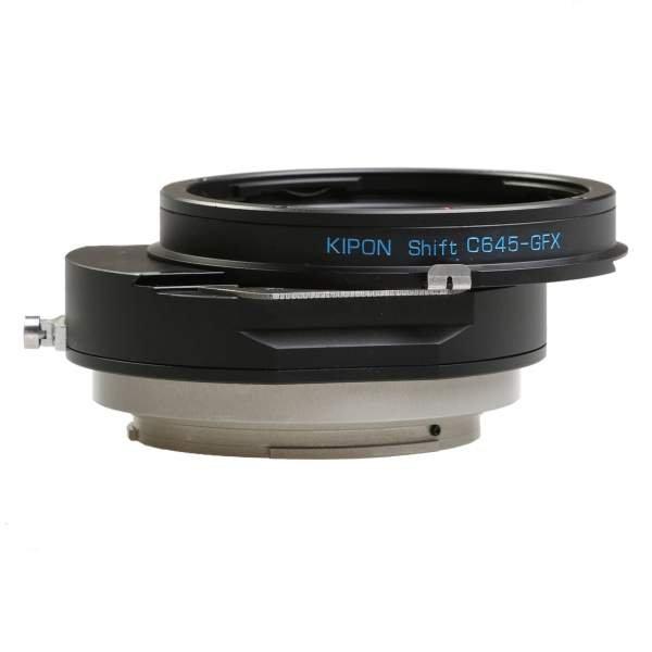 Kipon Shift Adapter für Contax 645 auf Fuji GFX