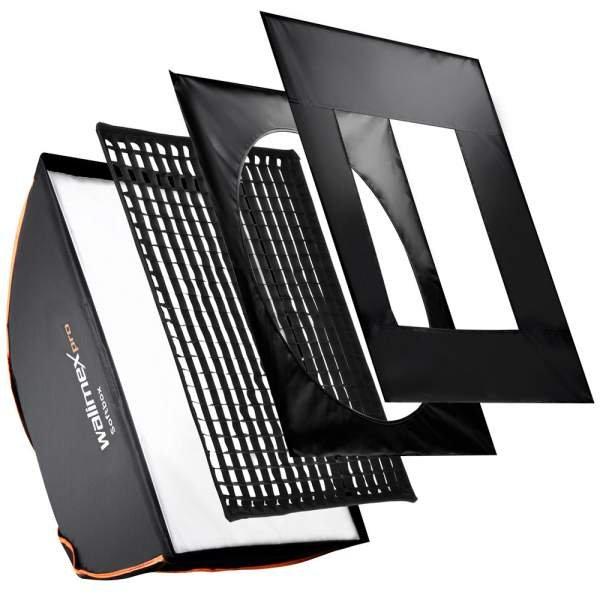 Walimex pro Softbox PLUS OL 75x150cm + Uni Adapter