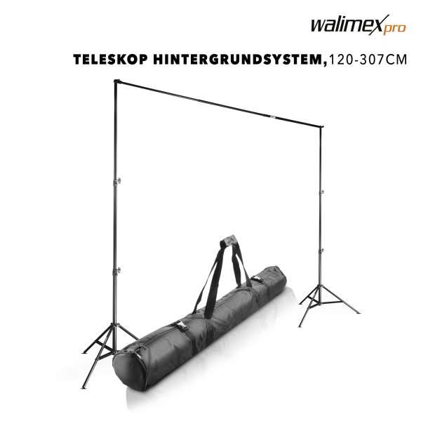 walimex pro TELESKOP Hintergrundsystem 120-307
