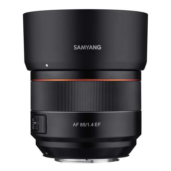 Samyang AF 85mm F1.4 EF Vollformat Autofokus für Canon EF