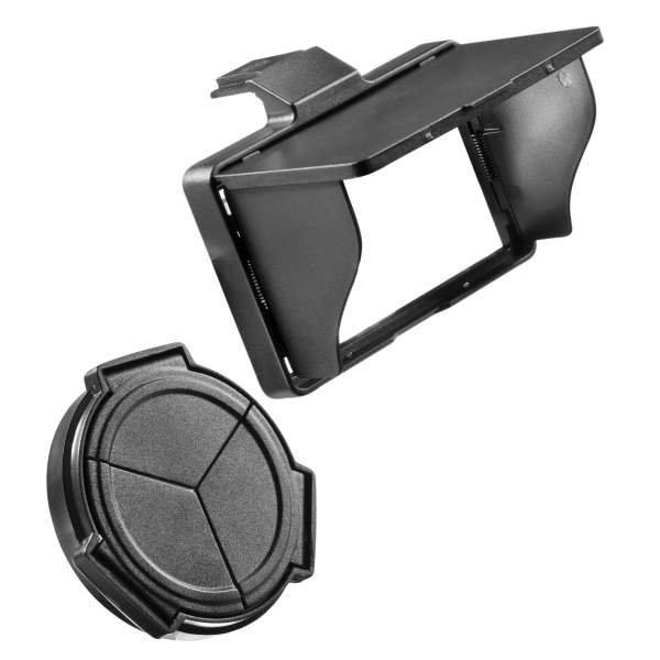 JJC LX5KIT Displayschutzdeckel Set für Panasonic