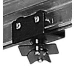 Kabelwagen mit Drehteller schwarz