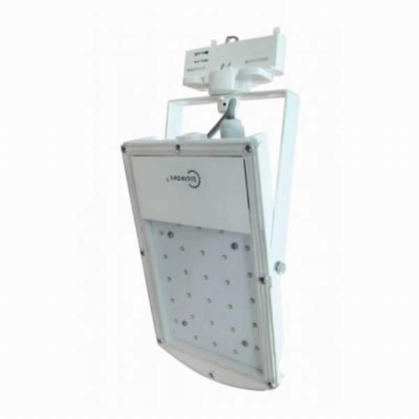BIOLEDEX® 3-Phasen LED Strahler ASTIR 18W 1500Lm 70° 5200K Weiss