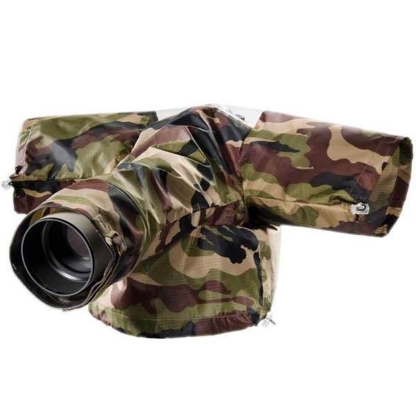 Kipon Regenschutzhülle TELE für SLR Kameras camo