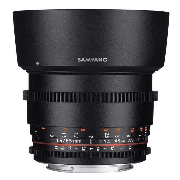 Samyang MF 85mm T1,5 Video DSLR II Canon EF