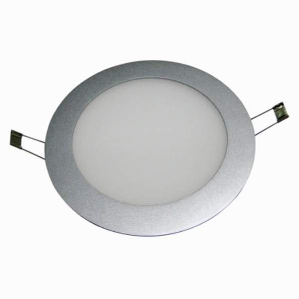 Bioledex 10W LED Panel Slim Rund 800Lm Milchglas Warmweiss