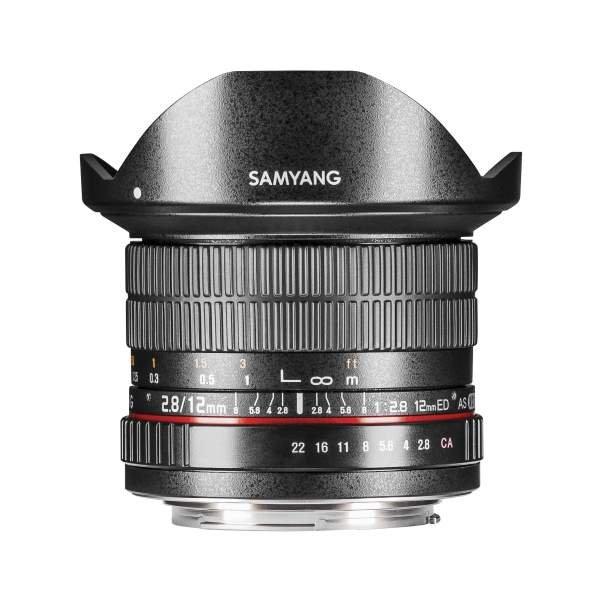 Samyang MF 12mm F2,8 Fisheye Nikon F AE