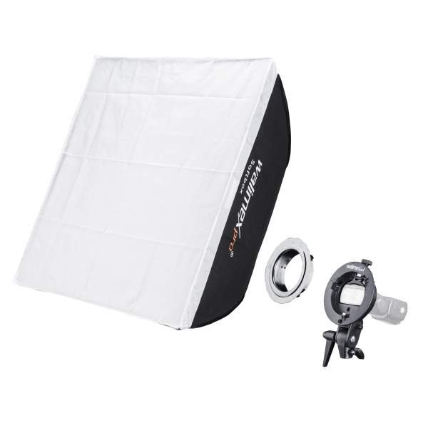 Walimex Softbox 60x60cm for Compact Flashes