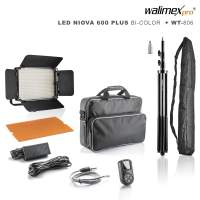 Walimex pro LED Niova 600 Plus Bi-Color + WT-806