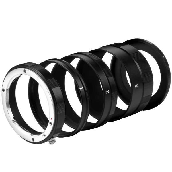 Walimex Makro Zwischenringsatz für Nikon F