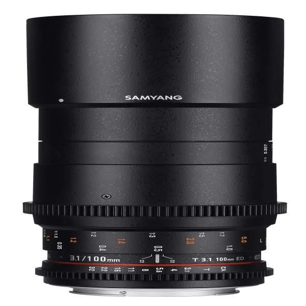 Samyang MF 100mm T3,1 Makro Video DSLR Sony A