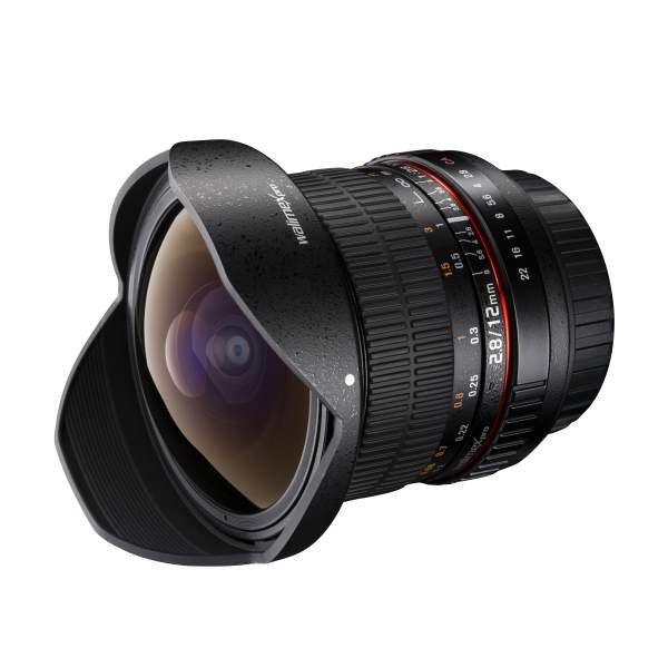 Walimex pro 12/2,8 Fisheye DSLR Nikon F AE