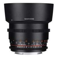 Samyang MF 85mm T1,5 Video DSLR II Sony A