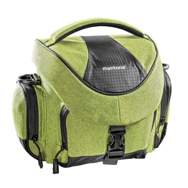 Mantona Premium Kameratasche grün