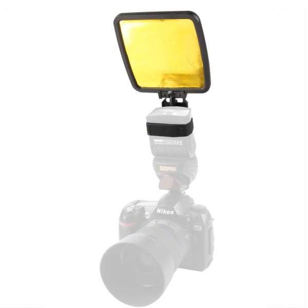 Walimex Reflektor-Aufsatz für Kompaktblitze