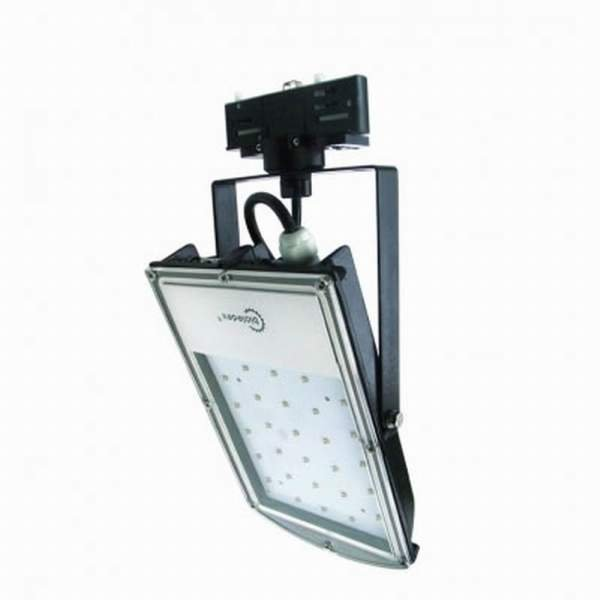 Bioledex 3-Phasen LED Strahler ASTIR 18W 1500Lm 70° 5200K Schwar