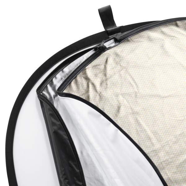 Walimex pro 5in1 Faltreflektor Set wavy, 91x122cm