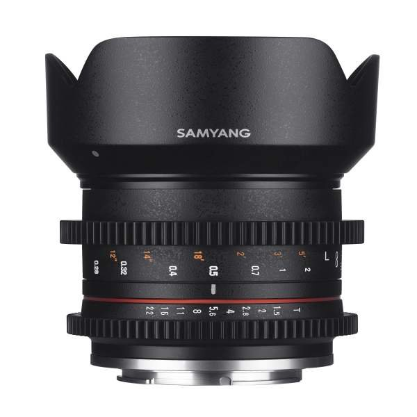 Samyang MF 21mm T1,5 Video APS-C Sony E
