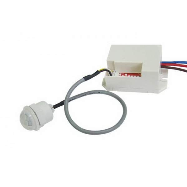 Bioledex Mini-Bewegungsmelder zum Einbau 230VAC