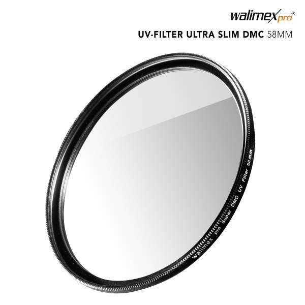 Walimex pro UV-Filter Slim Super DMC 58mm