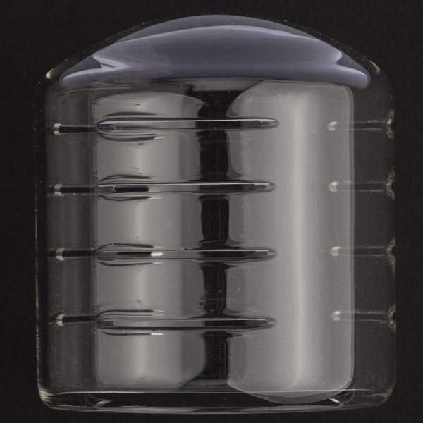 Schutzglocke klar, mit Schlitzen, für Expert D 250 Speed