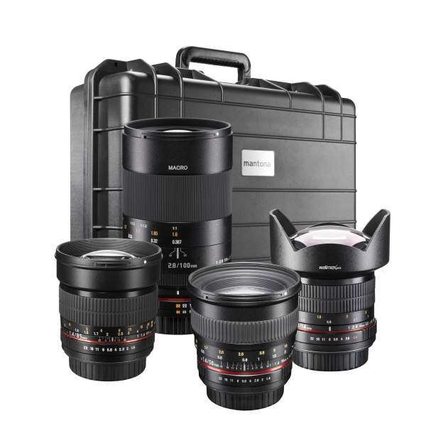 Walimex pro DSLR Crossover Set Canon EF