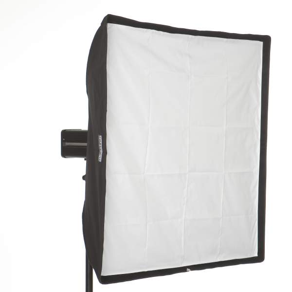 Softbox 100 x 100 cm für Elinchrom Studioblitz