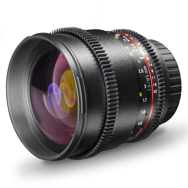 Walimex pro 85/1,5 Video DSLR Sony A
