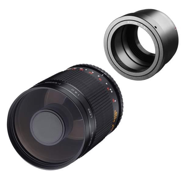 Samyang MF 500mm F8,0 DSLR Spiegel Nikon 1
