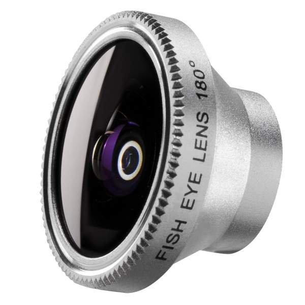 Mantona Fisheye Objektiv 180 für iPhone SE/5/4S/4
