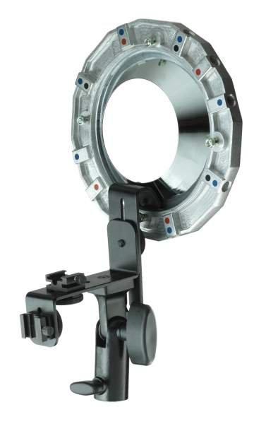 broncolor Adapterring für Kamerablitze Canon / Nikon usw.