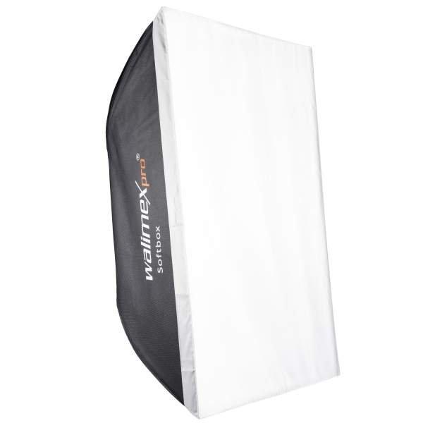 Walimex pro Softbox 80x120cm + Univ. Adapter