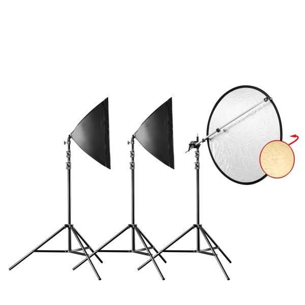 Walimex pro Daylight 250 Portrait Basic Set