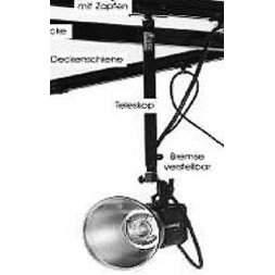Teleskop 100 cm alu/silber