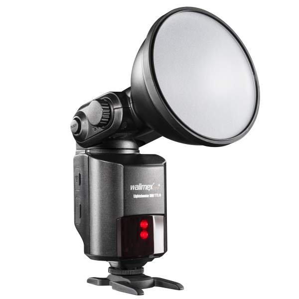 Walimex pro Light Shooter 360 TTL für Nikon + Power Porta mit 4.500 mAh Akku
