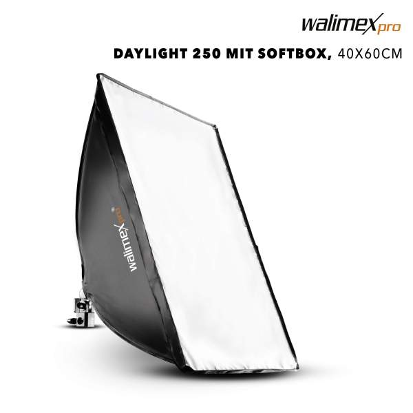 Walimex pro Daylight 250 Softbox 40x60cm 1x50W