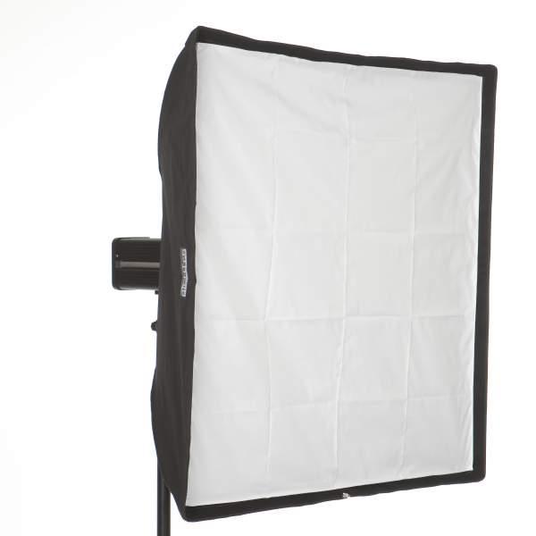 Softbox 130 x 130 cm für Hensel Studioblitz