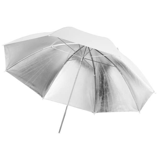 Walimex pro Reflexschirm weiß/silber, 109cm