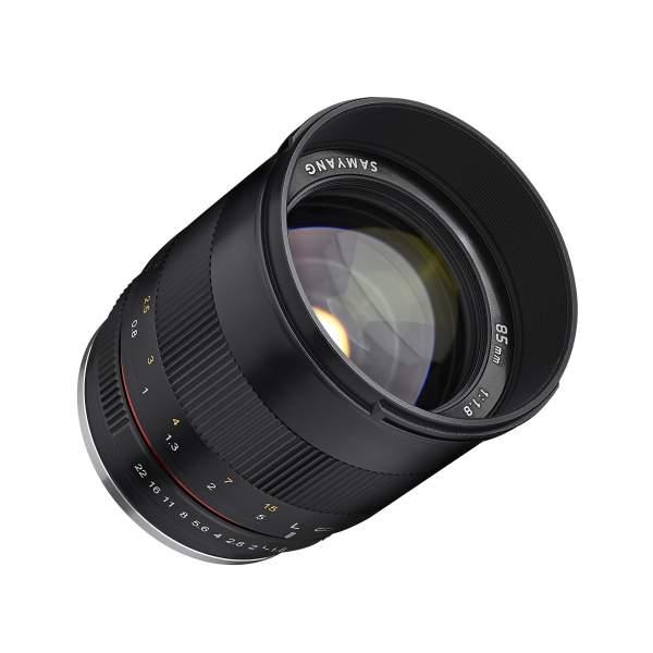 Samyang MF 85mm F1.8 ED UMC CS Sony E - für Sony APS-C Kameras, manueller Fokus