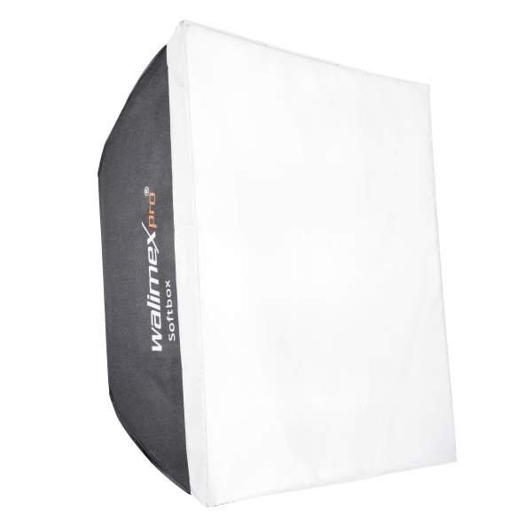Walimex pro Softbox 60x60cm + Universal-Adapter