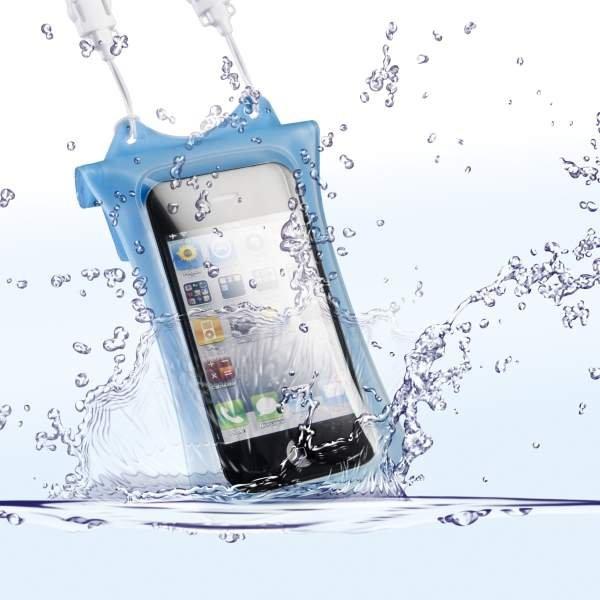 DiCAPac WP-i10 Unterwassertasche iPhone blau